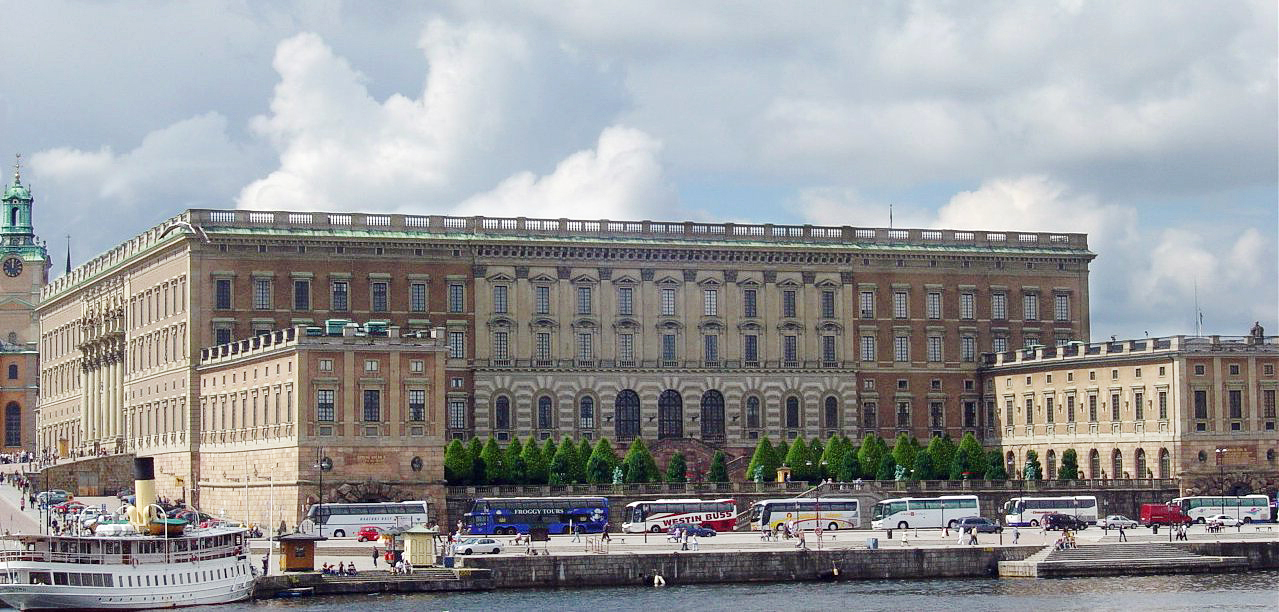 The Royal Palace is the official home of the Swedish Monarchy